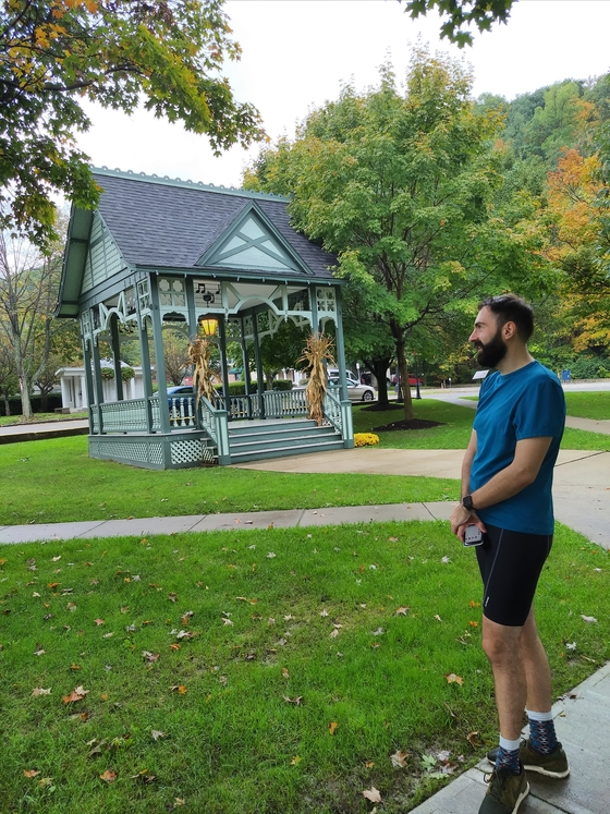 Fred and the gazebo